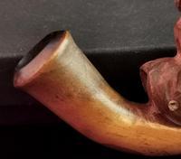 Rare Antique Erotic Folk Art Pipe (4 of 11)
