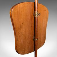 Antique Pole Screen, English, Needlepoint, Fire Shield, Tapestry, Regency c.1820 (8 of 12)