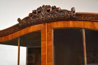 Burr Walnut Display Cabinet c.1930 (8 of 11)