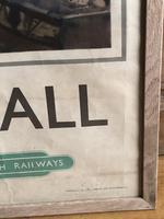 Original British Railways Poster Cornwall by Jack Merriott c.1950 (11 of 14)