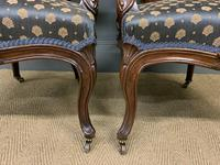Pair of 19th Century French Rosewood Armchairs (6 of 16)