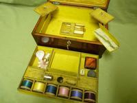 Regency Rosewood Jewellery / Sewing Box - Original Tray + Accessories c.1820 (13 of 15)
