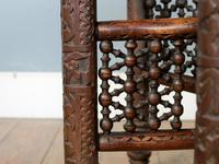 Antique Hexagonal Moorish Mashrabiya Table (5 of 5)