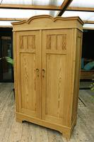 Fantastic! Old Pine 'Knock Down' Cupboard/ Wardrobe With Shelves - We Deliver! (14 of 14)