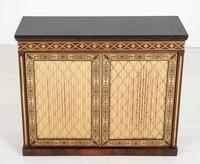 Amazing Rosewood and brass inlaid side cabinet (7 of 9)