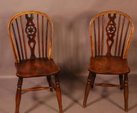 Set of 6 Kitchen Windsor Chairs Ash & Elm Thames Valley (17 of 21)