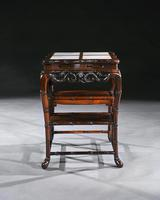 Fine 19th Century Chinese Huali Stand / Table with Alabaster Inserts (3 of 11)