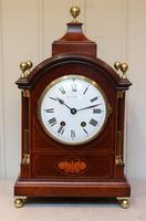 Mahogany & Inlay Bracket Clock (2 of 11)