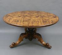 Superb Large Rosewood Centre Table (5 of 5)