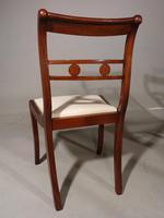 Elegant Set of 6 Sabre Legged Mahogany Dining Chairs (3 of 6)