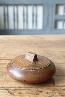 Scandinavian / Swedish 'Folk Art' wooden sliding-lid bowl 19th Century (14 of 15)