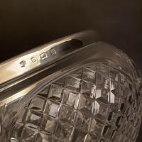 Edwardian Crystal & Silver Rim Bowl (3 of 3)