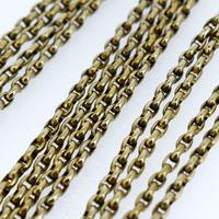 Antique Victorian Long Rolled Gold Guard Muff Chain Necklace (6 of 9)