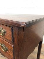 19th Century Oak Side Table (5 of 8)