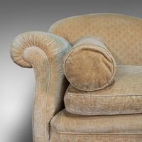 Antique 2 Seat Sofa, French, Textile, Beech, Settee, C.1900 (10 of 12)