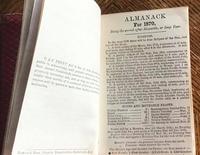 1870 The Gentleman's Pocket Book Almanack (4 of 8)