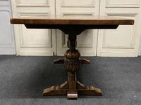 Solid Oak Refectory Dining Table (8 of 11)