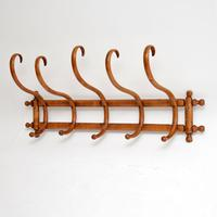 Antique Bentwood Wall Mounting Coat / Hat Rack