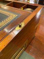 Mid 19th Century Mahogany Writing Box (3 of 7)