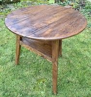 Early Pine Cricket Table