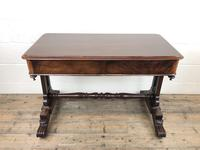 Antique William IV Mahogany Side Table (6 of 16)