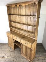 Large Victorian Antique Pine Dresser (16 of 17)