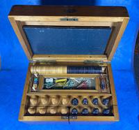 Victorian Pine Partially Fitted Games Box (16 of 32)