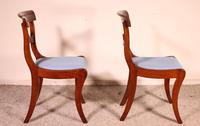 Two Regency Mahogany Chairs Circa 1800 (4 of 8)
