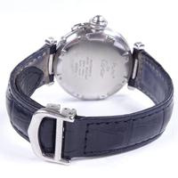 Mid-size Stainless Steel Pasha De Cartier Automatic Wrist Watch (3 of 4)