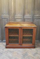 Antique Mahogany Side Cabinet (9 of 9)