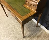 Victorian Inlaid Mahogany Writing Desk (7 of 20)