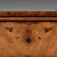 Antique Gentleman's English Burr Walnut Chest of Drawers - Georgian (10 of 12)