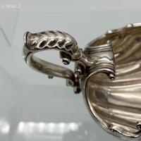 Matched Antique Georgian Sterling Silver Pair Sauce-boats London 1749/1811 Elizabeth Godfrey / Burwash & Sibley (4 of 10)