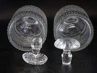 Good Pair of Georgian Mallet Shaped Decanters (2 of 5)