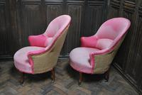 Pair of French Upholstered Fauteuil Armchairs (3 of 5)