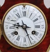 French Louis XV Style Tortoise Shell Mantel Clock by Samuel Marti (7 of 7)