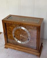 Walnut Chiming Elliott Mantel Clock (3 of 10)