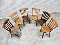 Mixed Set of 6 Windsor Kitchen Chairs (5 of 7)