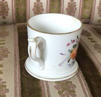 Early 19th Century Small Coalport Floral Tankard (4 of 6)