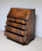 Vintage Oak Bureau (10 of 10)
