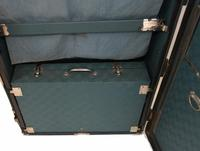 Vintage Steamer Trunk Luggage Case Harrison and  Co New York (20 of 28)