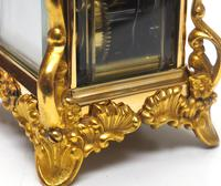 Extremely Rare 8-day Striking Carriage Repeat Feature Waterbury Clock Co c.1880 (4 of 14)