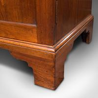 Antique Butler's Cabinet, English, Walnut, Estate, Chest of Drawers, Victorian (12 of 13)