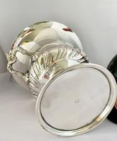 Superb Silver Plated Wine Cooler (6 of 10)