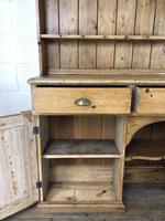 Large Victorian Antique Pine Dresser (11 of 17)