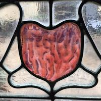 Antique Stained Glass Panel (5 of 12)