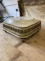 19th Century French White Marble Stand with Ormolu Decoration (2 of 8)