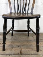 Set of Four 19th Century Ash and Elm Hoop Back Chairs (10 of 13)