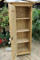 Fabulous Old Stripped Pine Cupboard / Wardrobe (8 of 11)