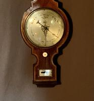 Fine Quality 18th Century Barometer / Thermometer (9 of 12)